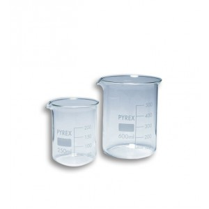 Beker in vetro 600 ml